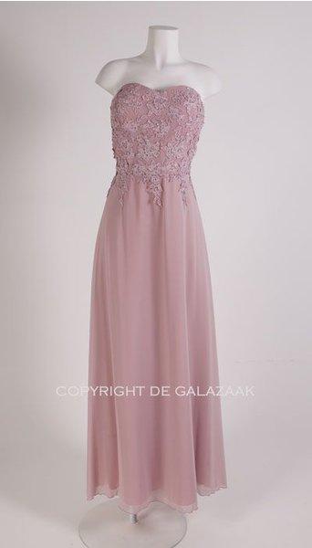 Oud roze galajurk