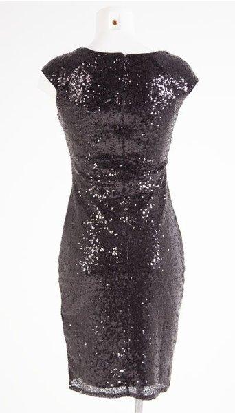 City Goddess Cocktailjurk zwart