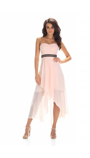 Paris Collection feestjurk roze 2160