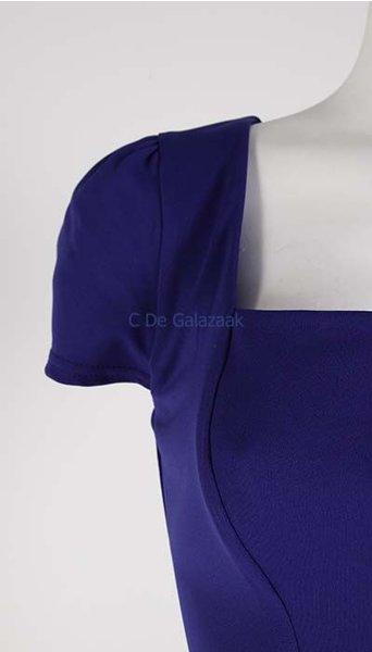 Galajurk blauw met kapmouw 2726