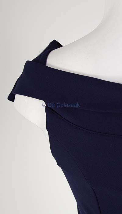 GLZK Galajurk navy off-shoulder