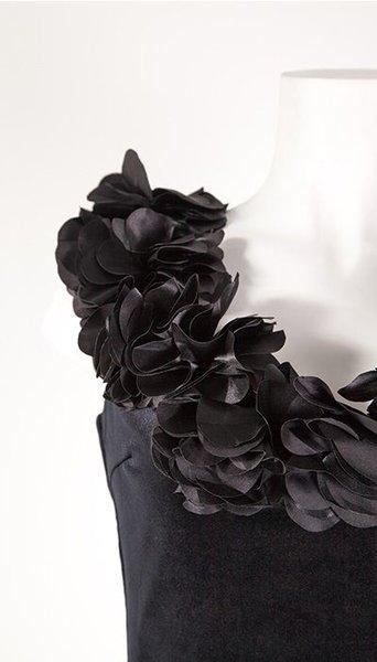 GLZK Cocktail zwart fluweel
