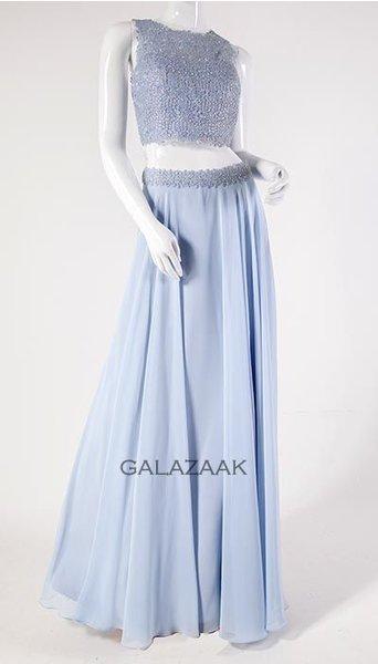 Galajurk ijsblauw 2834