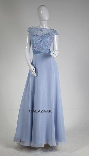 Galajurk ijsblauw