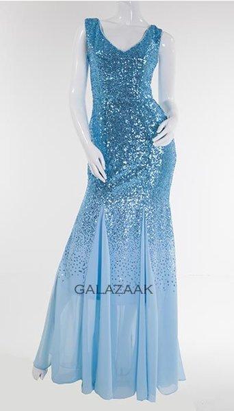 Galajurk lichtblauw