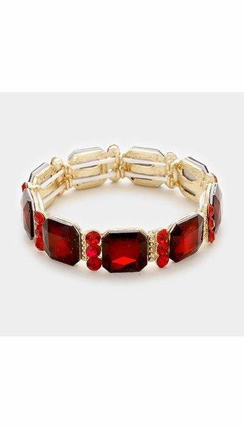 GLZK 1 Armbanden rood