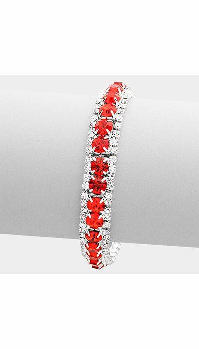 GLZK 2 Armband rood