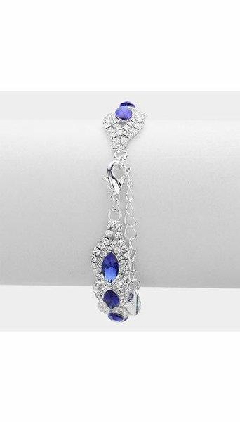 GLZK 1 Armband blauw