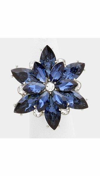 Ring blauw