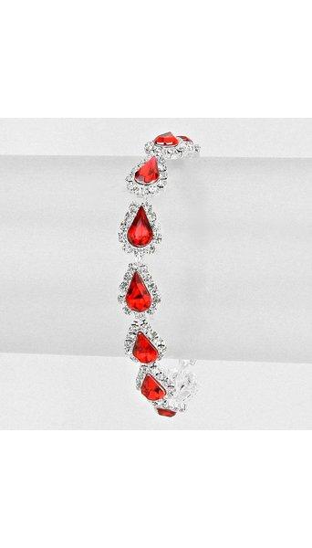 Armband rood