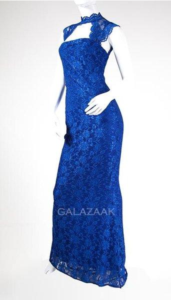 City Godess Galajurk kant in het blauw