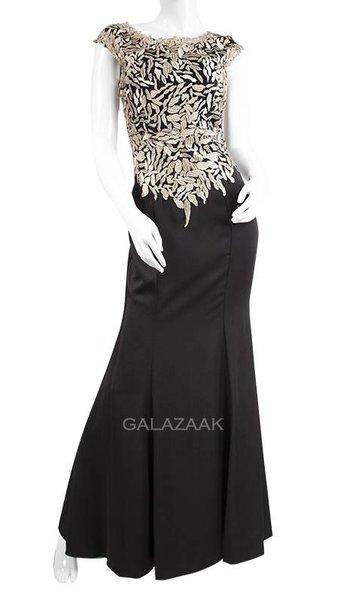 Galajurk zwart/goud  3242