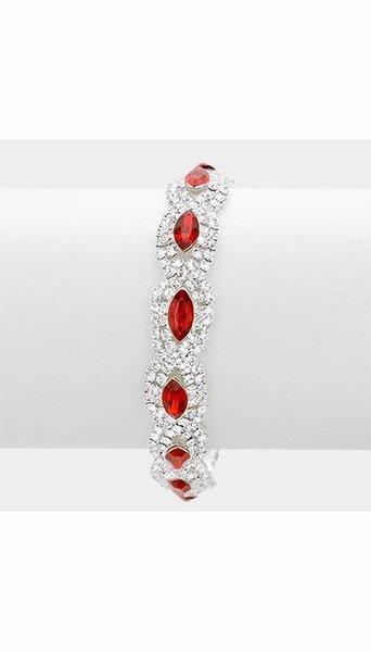 Armband rood 3266