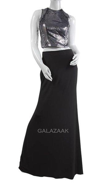 Galaset zilver/zwart