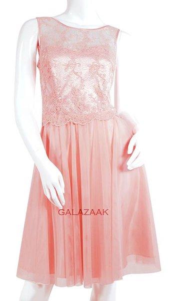 Cocktailjurk roze  3337