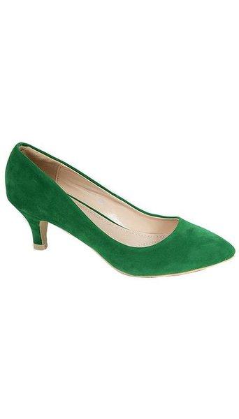 Groene pumps 2353