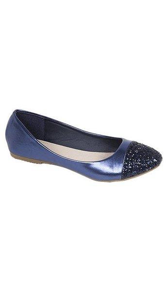 Ballerina's blauw