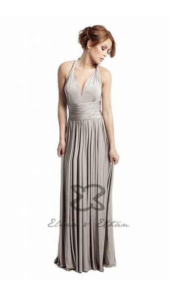 Galajurk jurk champagne 3404