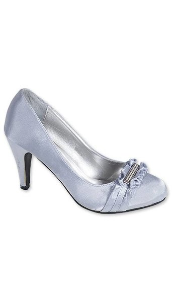 pumps zilver 2924