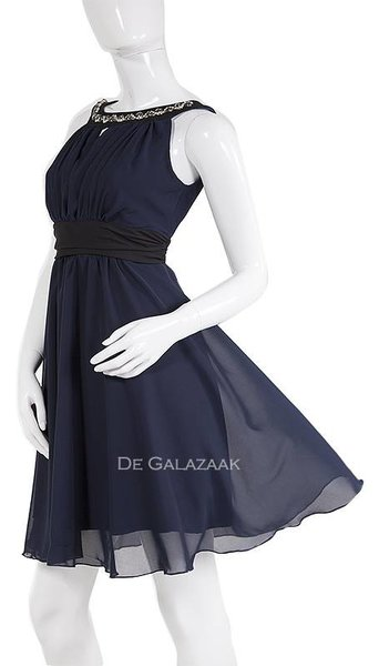 Paris Collection Cocktailjurk navy-kleur 1782