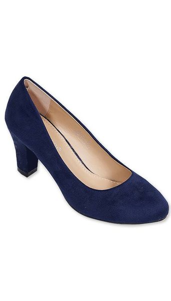 Blauwe pumps 3449