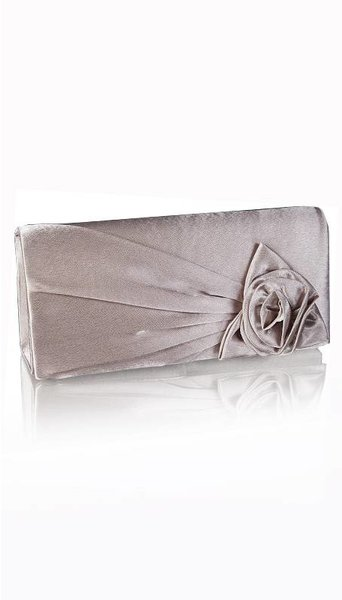 Taupe kleurige clutch