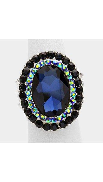 Blauwe ring 3515