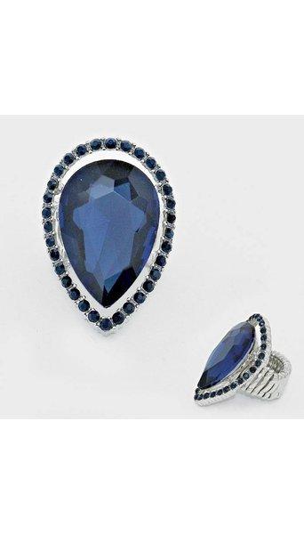 Blauwe ring 3512