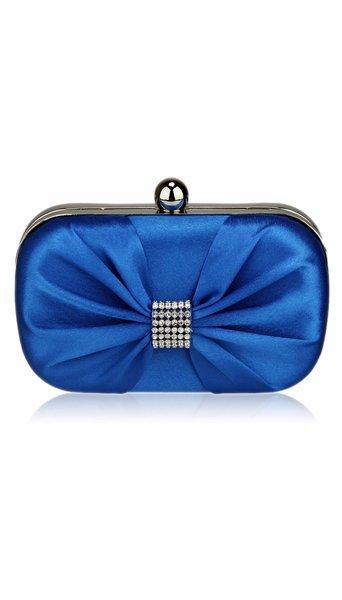 Blauwe clutch 3628