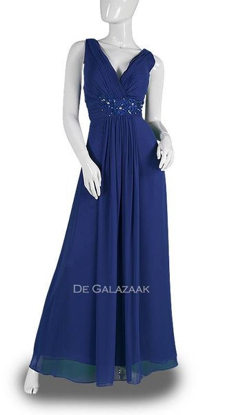 Blauwe galajurk 587