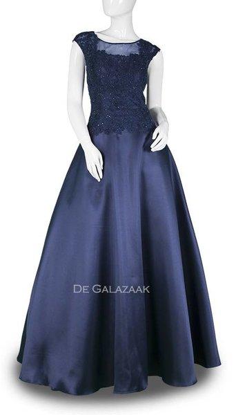 Donker blauwe baljurk 3717