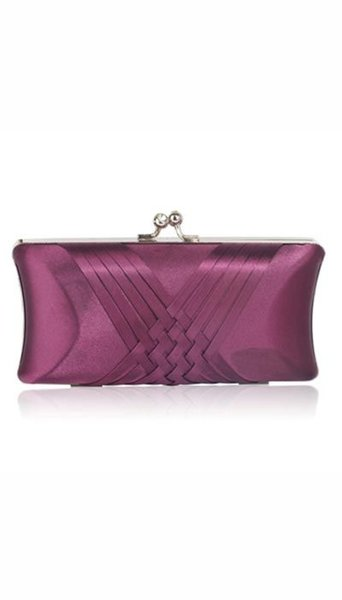 Paarse clutch 3756