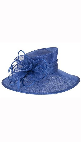 Blauwe dameshoed  3762