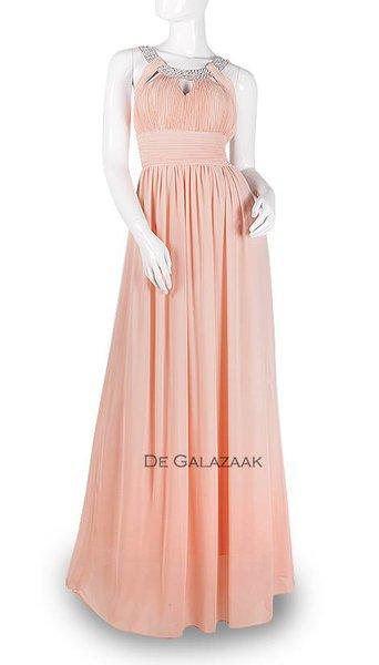 Roze feestjurk 3799