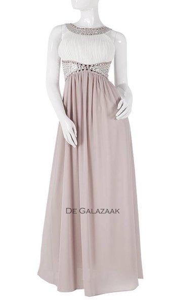 Oud roze feestjurk  3786