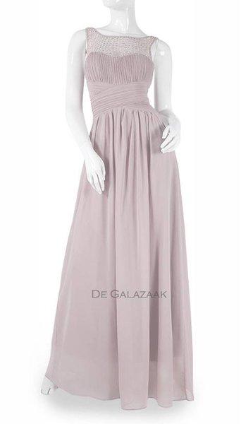 Oud roze feestjurk 3784