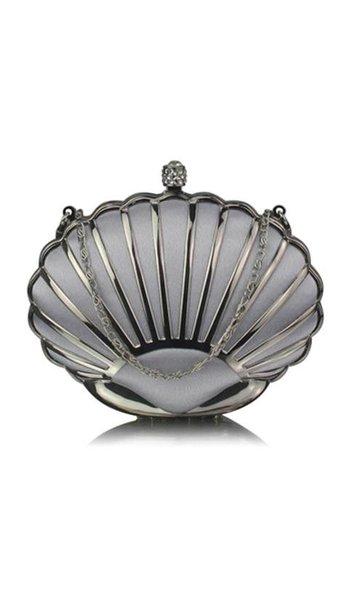 Clutch zilver 3833