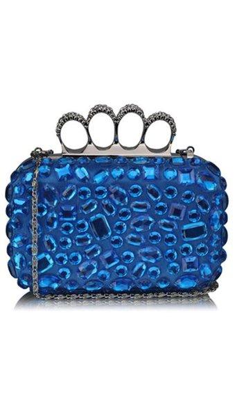 Clutch blauw 3835