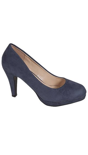 Navy blauwe pump 3795