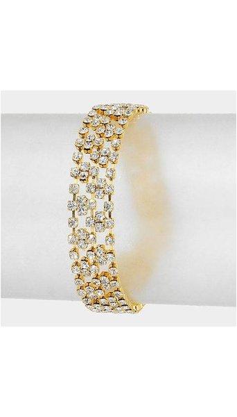 Gouden armband  3888