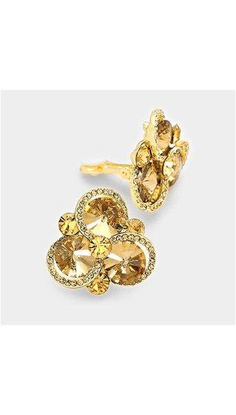 GLZK 1 Goud kleurige oorbellen