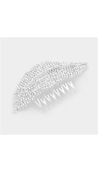 Zilveren Haar Accessoire  3930