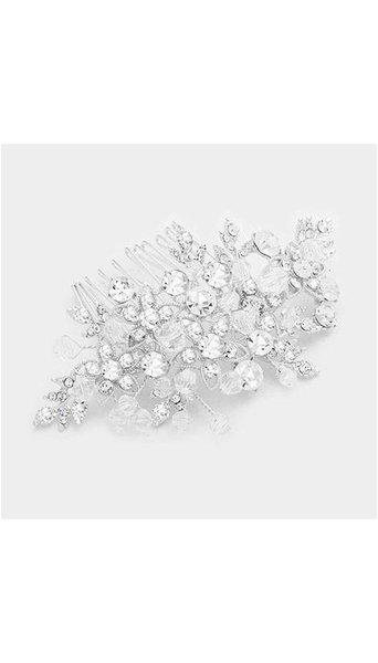 Haar Accessoire zilver 3932