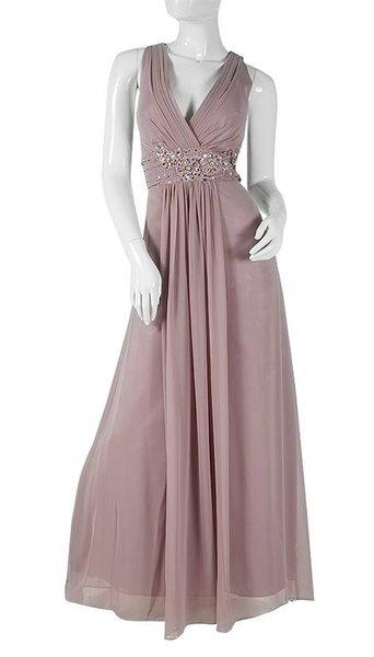 Oud roze feestjurk  705