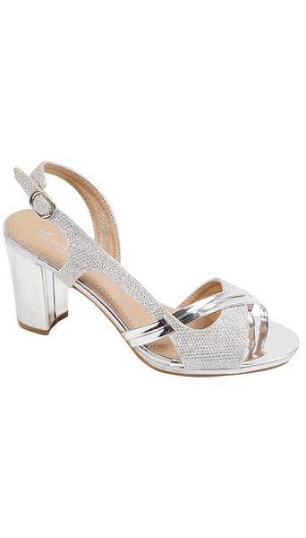 GLZK 2 Zilveren sandaaltjes