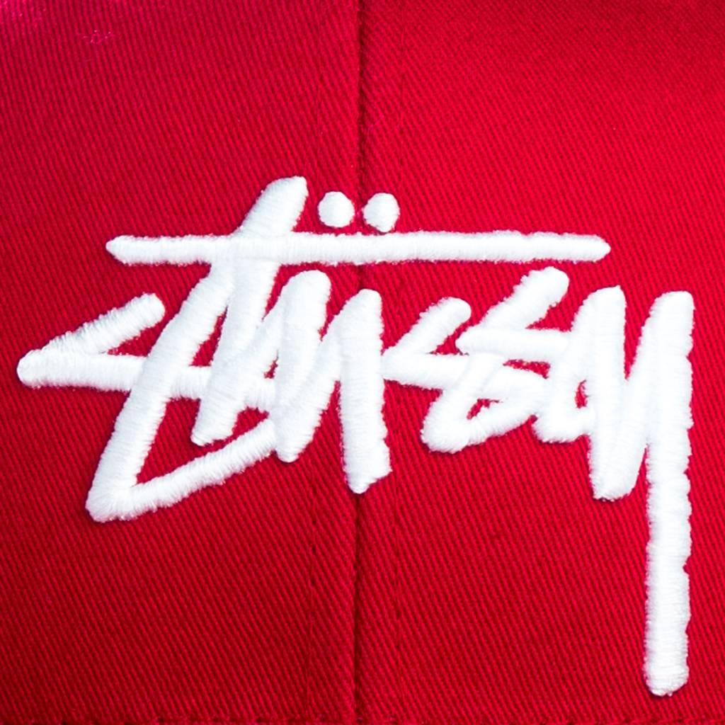 Stussy Stussy | Stock Snapback Red