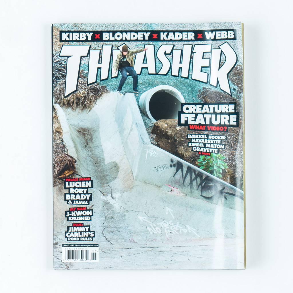Thrasher Skateboard Magazine Thrasher Skateboard Magazine | June 2017