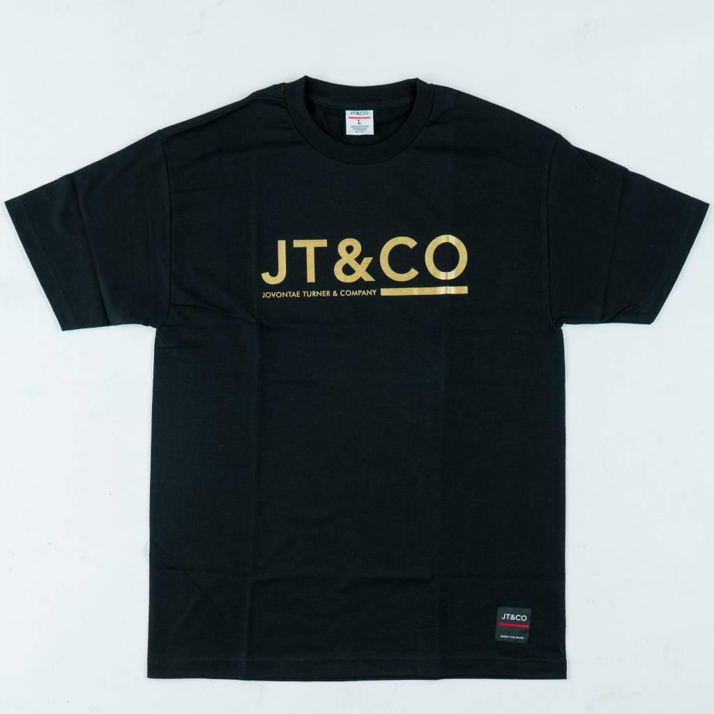 JT & CO JT&CO   Logo Tee - Black