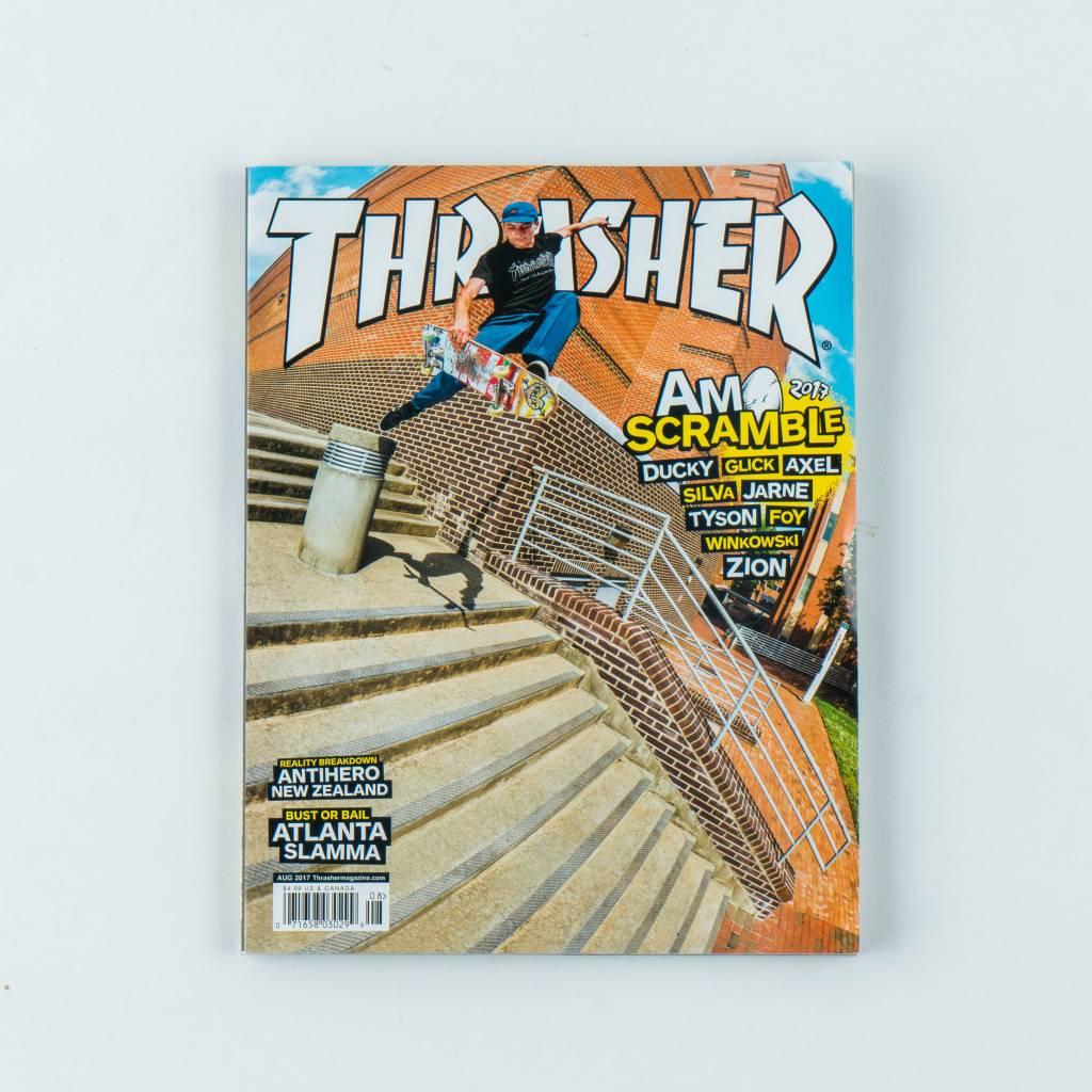 Thrasher Skateboard Magazine Thrasher Skateboard Magazine | August 2017