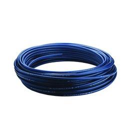 PVC-Gewebeschlauch blau/rot